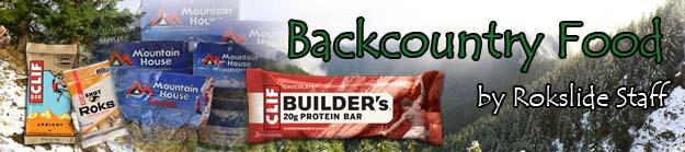 backcountry food