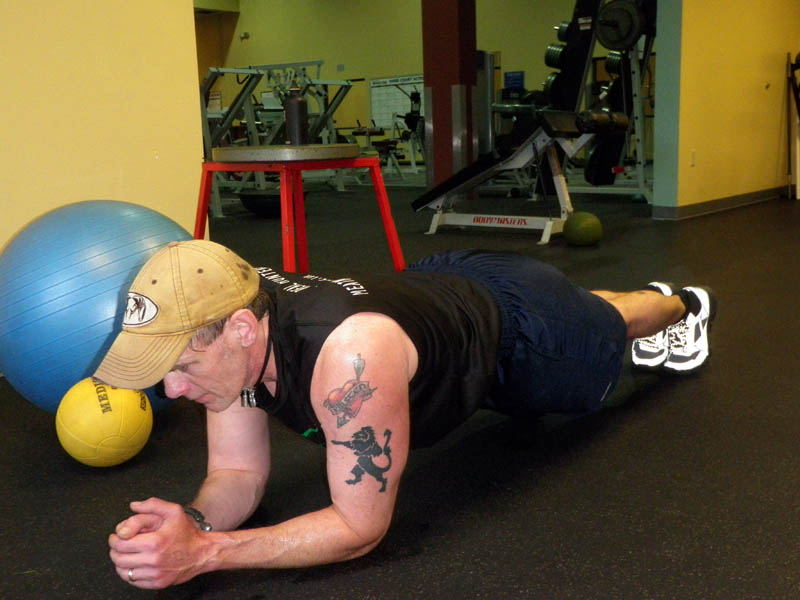 Walk the Plank for Core Stability