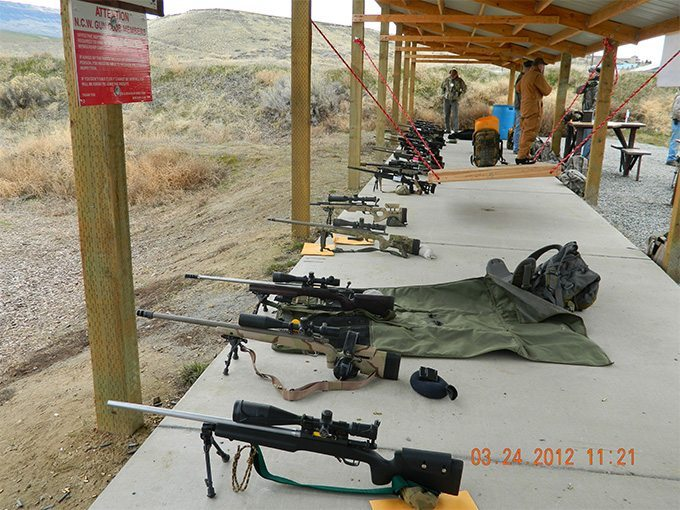 Choices abound - tailor your long range gun to your needs