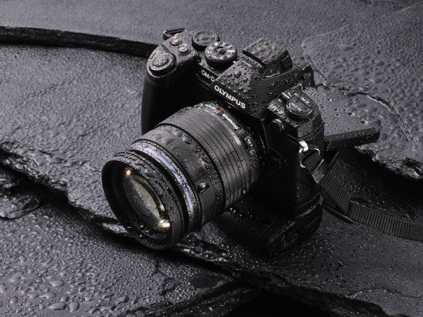The Olympus OMD E M1 takes stunning photos and can handle the elements
