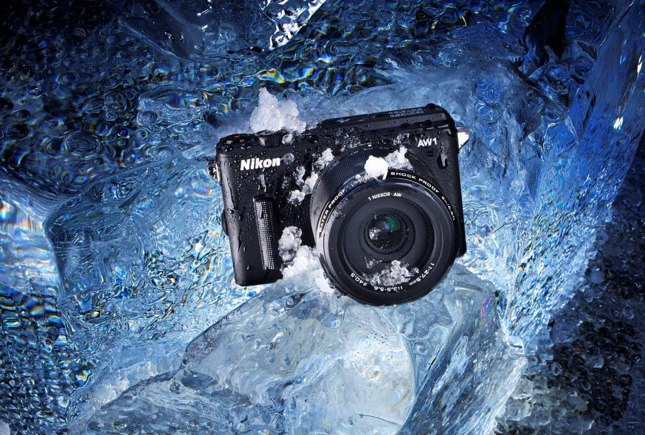 The Nikon 1 - AW1 can handle some weather
