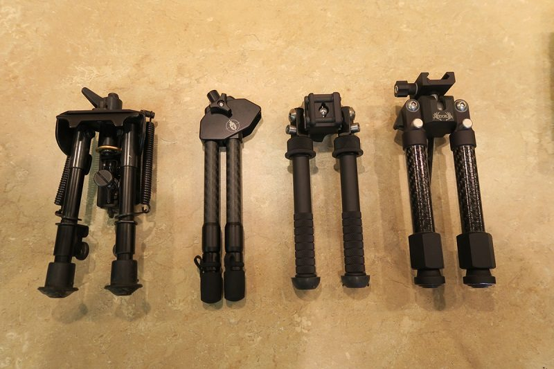 Bipods Folded
