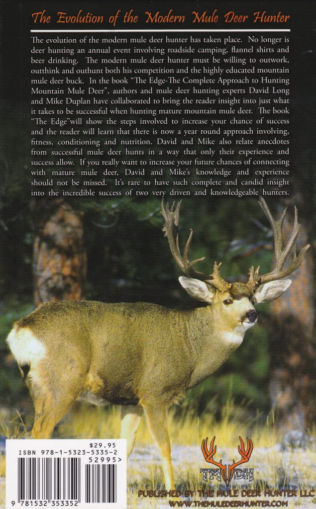 The Edge- The Complete Guide to Hunting Mountain Mule Deer