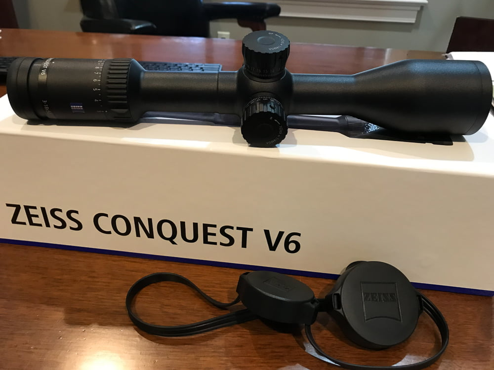 Zeiss Conquest V6 3-18x50 Riflescope Review - Rokslide